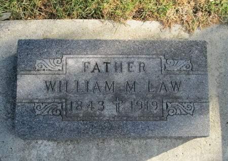 LAW, WILLIAM M. - Franklin County, Iowa | WILLIAM M. LAW