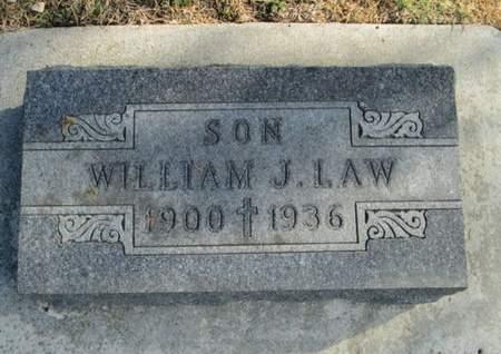 LAW, WILLIAM J. - Franklin County, Iowa | WILLIAM J. LAW