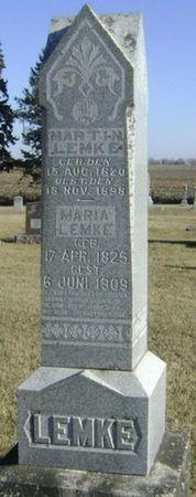LEMKE, MARTIN - Franklin County, Iowa | MARTIN LEMKE
