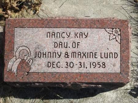 LUND, NANCY KAY - Franklin County, Iowa   NANCY KAY LUND