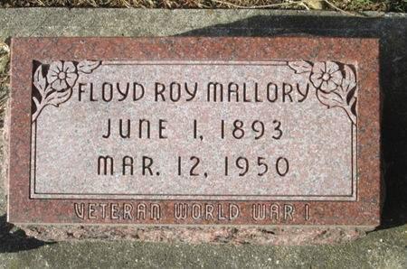 MALLORY, FLOYD ROY - Franklin County, Iowa | FLOYD ROY MALLORY