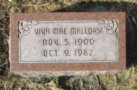 MALLORY, VIVA MAE - Franklin County, Iowa | VIVA MAE MALLORY