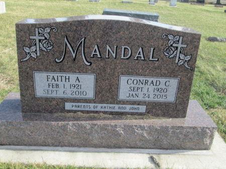 MANDAL, FAITH A. - Franklin County, Iowa | FAITH A. MANDAL