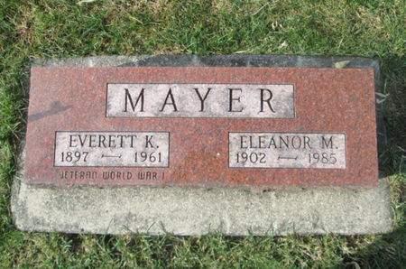 MAYER, EVERETT K. - Franklin County, Iowa | EVERETT K. MAYER