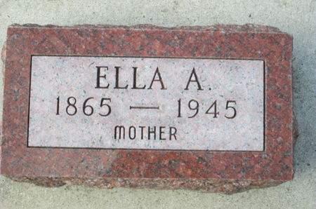 MAYER, ELLA A. - Franklin County, Iowa   ELLA A. MAYER