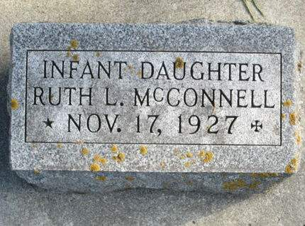 MCCONNELL, RUTH L. - Franklin County, Iowa | RUTH L. MCCONNELL