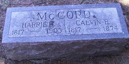 MCCORD, HARRIET - Franklin County, Iowa | HARRIET MCCORD