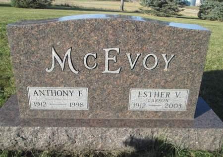 MCEVOY, ESTHER V. - Franklin County, Iowa | ESTHER V. MCEVOY