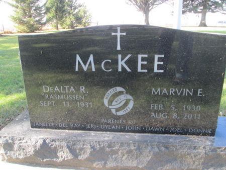 MCKEE, MARVIN E. - Franklin County, Iowa | MARVIN E. MCKEE