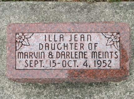 MEINTS, ILLA JEAN - Franklin County, Iowa | ILLA JEAN MEINTS