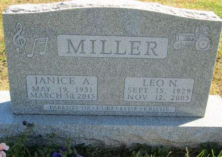 MILLER, JANICE A. - Franklin County, Iowa   JANICE A. MILLER