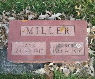 MILLER, JANE - Franklin County, Iowa   JANE MILLER