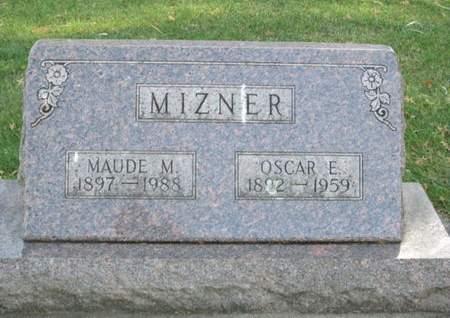MIZNER, OSCAR E. - Franklin County, Iowa   OSCAR E. MIZNER