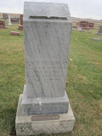 MOLLENBECK, REV B. - Franklin County, Iowa   REV B. MOLLENBECK