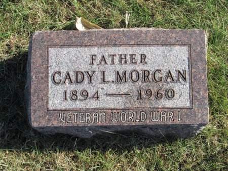 MORGAN, CADY L. - Franklin County, Iowa | CADY L. MORGAN