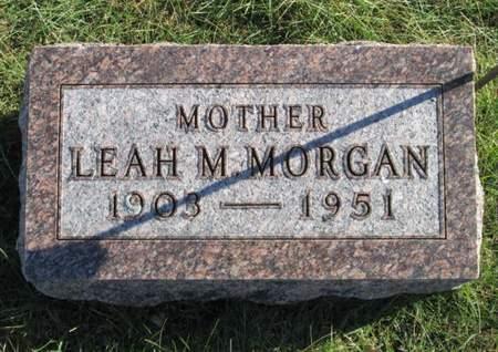 MORGAN, LEAH M. - Franklin County, Iowa   LEAH M. MORGAN