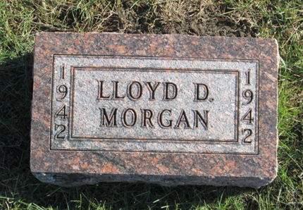 MORGAN, LLOYD D. - Franklin County, Iowa   LLOYD D. MORGAN