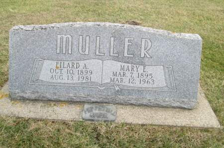 MULLER, MARY E. - Franklin County, Iowa | MARY E. MULLER