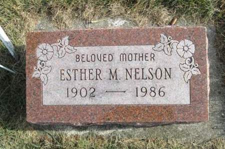 NELSON, ESTHER M. - Franklin County, Iowa   ESTHER M. NELSON