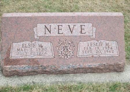 NEVE, LESLIE M. - Franklin County, Iowa | LESLIE M. NEVE