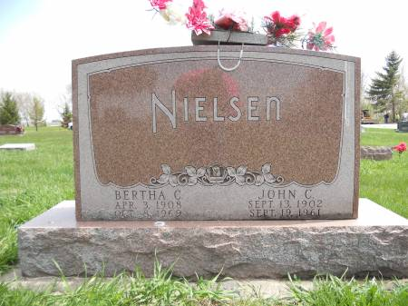 NIELSEN, JOHN C. - Franklin County, Iowa | JOHN C. NIELSEN