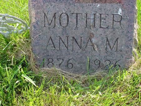 OLESON, ANNA M. - Franklin County, Iowa | ANNA M. OLESON