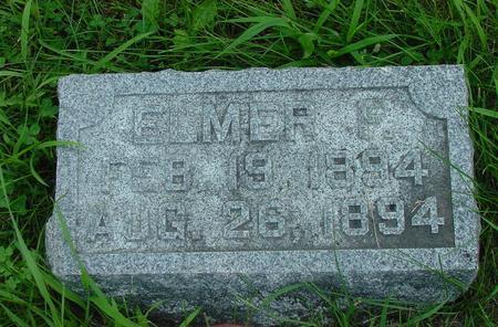OLESON, ELMER F. - Franklin County, Iowa | ELMER F. OLESON