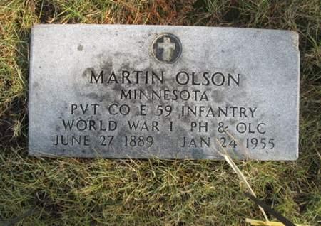 OLSON, MARTIN - Franklin County, Iowa | MARTIN OLSON