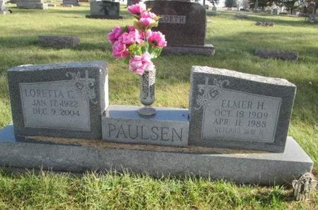 PAULSEN, ELMER H. - Franklin County, Iowa | ELMER H. PAULSEN