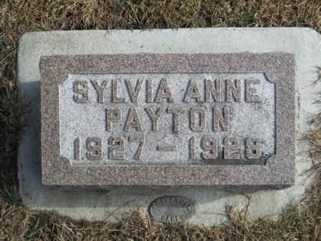 PAYTON, SYLVIA ANNE - Franklin County, Iowa   SYLVIA ANNE PAYTON