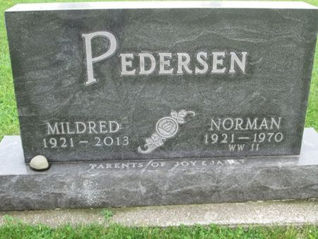 PEDERSEN, MILDRED - Franklin County, Iowa   MILDRED PEDERSEN