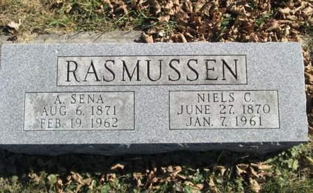 RASMUSSEN, A. SENA - Franklin County, Iowa | A. SENA RASMUSSEN