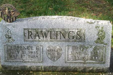 RAWLINGS, CLARENCE G. - Franklin County, Iowa | CLARENCE G. RAWLINGS