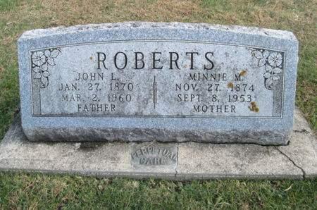 ROBERTS, JOHN L. - Franklin County, Iowa   JOHN L. ROBERTS