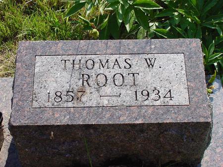 ROOT, THOMAS W. - Franklin County, Iowa | THOMAS W. ROOT