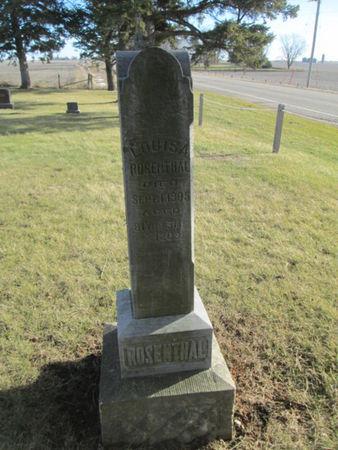 ROSENTHAL, LOUISA - Franklin County, Iowa | LOUISA ROSENTHAL