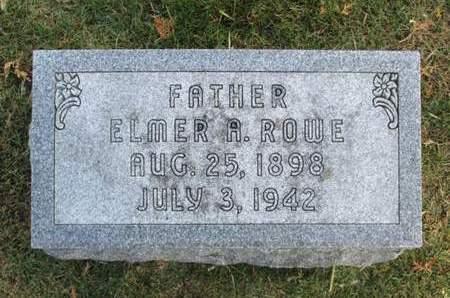 ROWE, ELMER A. - Franklin County, Iowa | ELMER A. ROWE