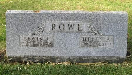 ROWE, LEWIS J. - Franklin County, Iowa   LEWIS J. ROWE