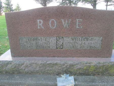 ROWE, LORENE L. - Franklin County, Iowa | LORENE L. ROWE