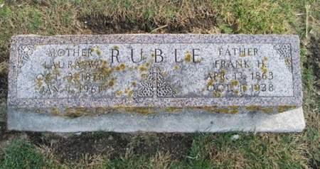 RUBLE, FRANK H. - Franklin County, Iowa | FRANK H. RUBLE