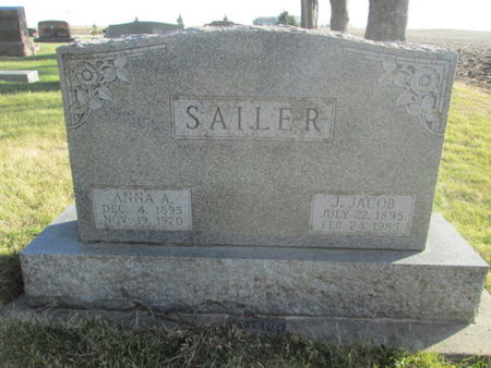 SAILER, J. JACOB - Franklin County, Iowa | J. JACOB SAILER