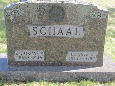 SCHAAL, BESSIE E. - Franklin County, Iowa | BESSIE E. SCHAAL