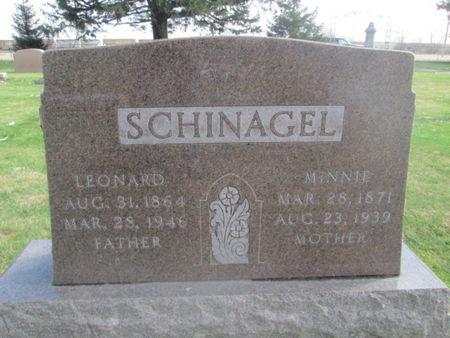 SCHINAGEL, MINNIE - Franklin County, Iowa | MINNIE SCHINAGEL
