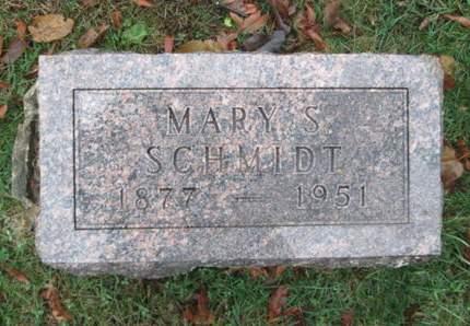 SCHMIDT, MARY S. - Franklin County, Iowa | MARY S. SCHMIDT