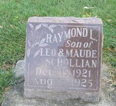 SCHOLLIAN, RAYMOND L. - Franklin County, Iowa | RAYMOND L. SCHOLLIAN