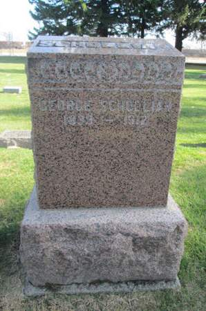 SCHOLLIAN, GEORGE - Franklin County, Iowa   GEORGE SCHOLLIAN