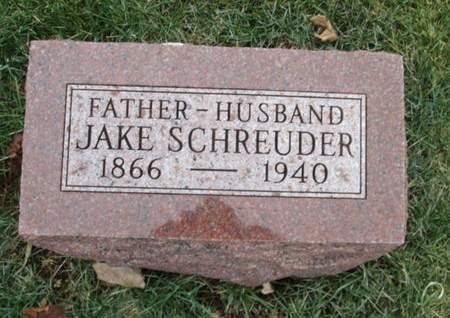 SCHREUDER, JAKE - Franklin County, Iowa | JAKE SCHREUDER