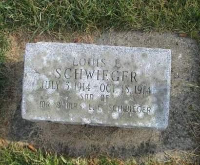 SCHWIEGER, LOUIS E - Franklin County, Iowa | LOUIS E SCHWIEGER