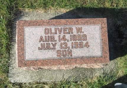 SCHWIEGER, OLIVER W. - Franklin County, Iowa   OLIVER W. SCHWIEGER