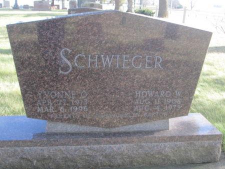 SCHWIEGER, HOWARD W. - Franklin County, Iowa | HOWARD W. SCHWIEGER